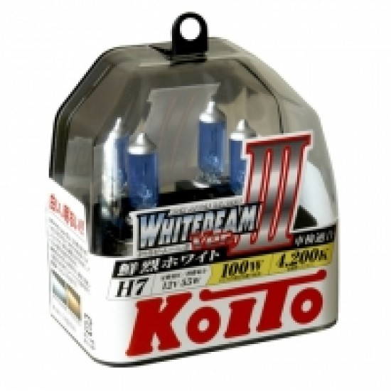 Koito Whitebeam III H7 4200K 12V 55W (100W)