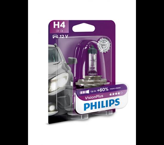 VisionPlus лампа для автомобильных фар 12342VPB1