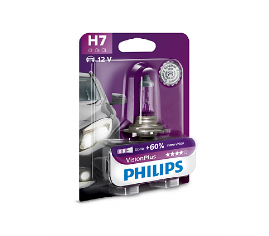 VisionPlus лампа для автомобильных фар 12972VPB1