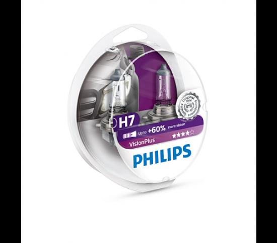 VisionPlus лампа для автомобильных фар 12972VPS2