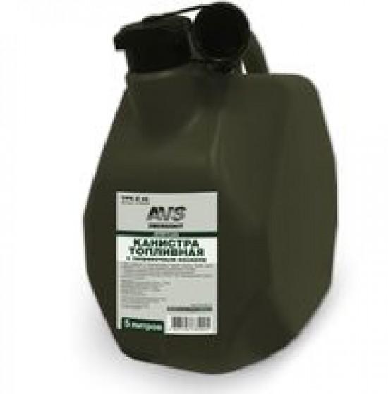 Канистра топливная пластик.5л.(темн.зелён.)AVS МТК-Z 05