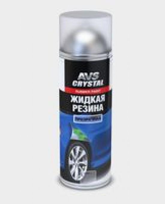 """Жидкая резина """"прозрачный""""(аэрозоль)650 мл.AVS AVK-303"""