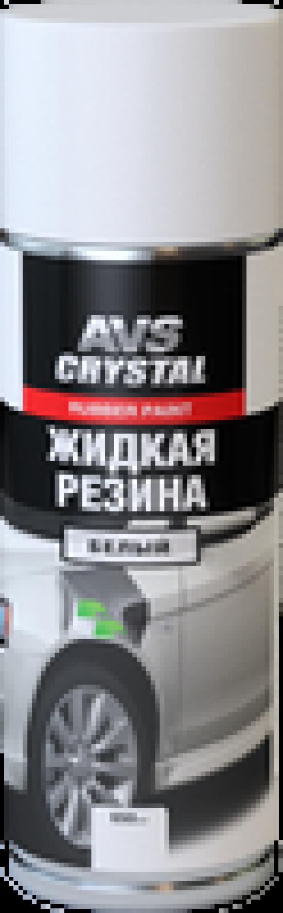 """Жидкая резина """"белый""""(аэрозоль)650 мл.AVS AVK-304"""