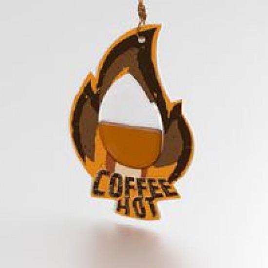 Ароматизатор AVS WDM-002 Fire Fresh (аром. Coffee Hot/Кофе) (мембранные)