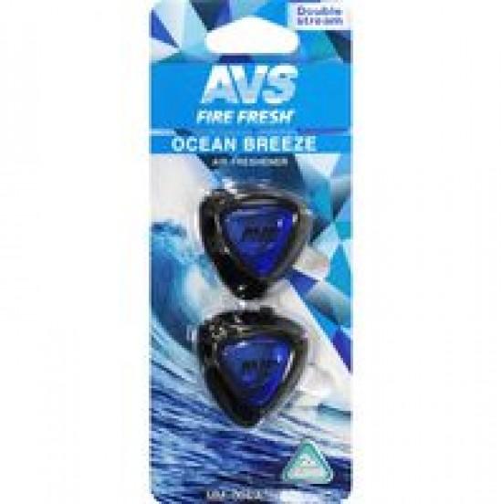 Ароматизатор AVS MM-004 Double Stream (аром. Ocean Breeze/Океанский бриз) (мини мембрана)