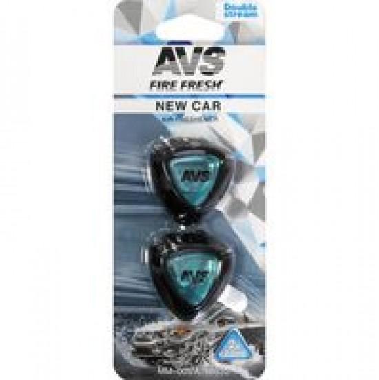 Ароматизатор AVS MM-005 Double Stream (аром. New Car/Новая машина) (мини мембрана)
