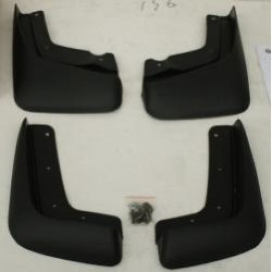 """Брызговики """"Oem-Tuning"""" (комплект передние + задние) для Volvo XC90 2002-2006. Артикул CNT23-XC90-012"""