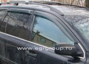 Дефлекторы боковых окон Volvo XC90 2002-2015 темные, 4 части, EGR Австралия
