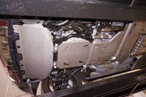 """Защита """"АВС-Дизайн"""" для днища, радиатора, картера двигателя, КПП, РК, топливных трубок Jeep Grand Cherokee WK2 2013-2017."""