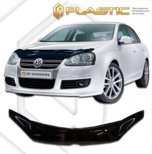 Дефлектор капота Volkswagen Jetta (Classic черный)