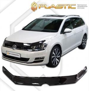 Дефлектор капота Volkswagen Golf (Classic прозрачный)