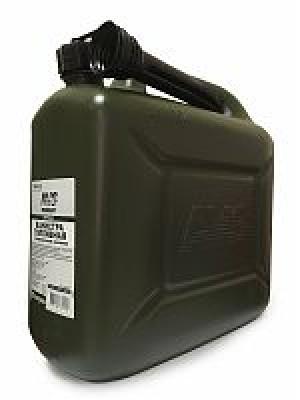 Канистра топливная пластик.10л.(тёмн.зелён.)AVS TPK-Z 10