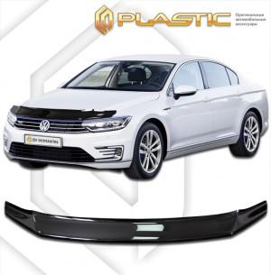 Дефлектор капота Volkswagen Passat (Classic полупрозрачный)