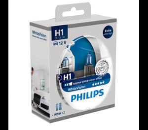 WhiteVision лампа для автомобильных фар 12258WHVSM