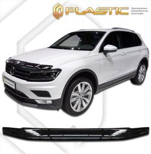Дефлектор капота Volkswagen Tiguan (Classic черный)