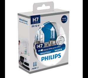 WhiteVision лампа для автомобильных фар 12972WHVSM