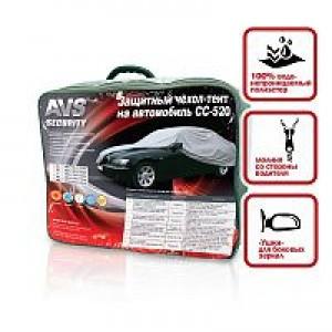 "Защитный чехол-тент на автомобиль AVS СС-520 ""S"" 406х165х119 см (водонепроницаемый)"