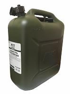 Канистра топливная пластик.20л.(тёмн.зелён.)AVS TPK-Z 20