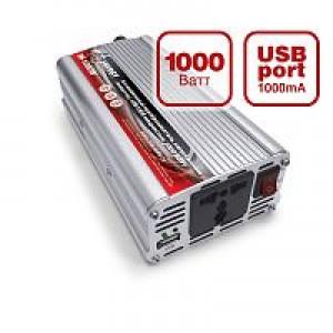 Автомобильный инвертор 12/220V IN-1000W