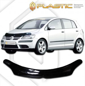 Дефлектор капота Volkswagen Golf Plus (Classic полупрозрачный)