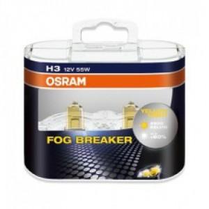 OSRAM FOG BREAKER (H3, 62151FBR-DUOBOX)