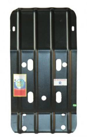 """Защита """"АвтоЩИТ"""" для картера двигателя (комплект с 2 балками) ГАЗ Газель (Бизнес) 2010-2013."""