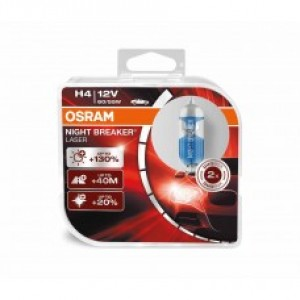 OSRAM NIGHT BREAKER LASER (H4, 64193NBL-BOX)