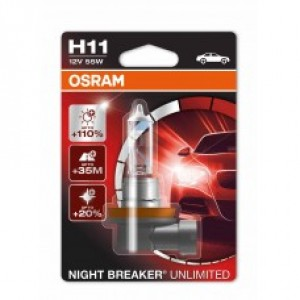 OSRAM NIGHT BREAKER UNLIMITED (H1, 64150NBU-DUOBOX)
