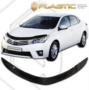 Дефлектор капота Toyota Corolla седан (Classic полупрозрачный)