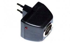 Cетевой адаптер (переходник сеть-прикуриватель) AD-22012A 1000mAh