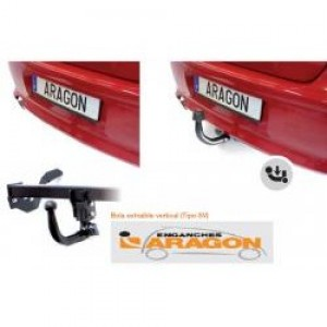 Фаркоп Лидер-Плюс для Subaru Impreza III хэтчбек 2007-2011. Артикул S304-A
