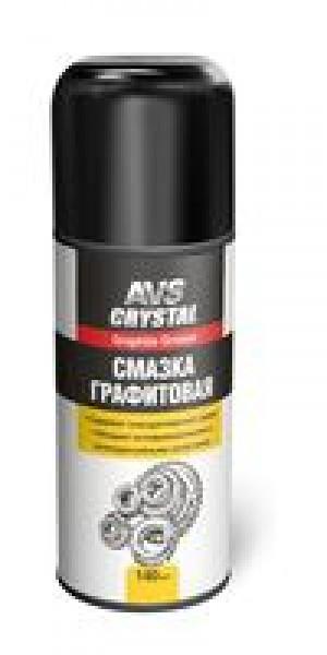 Смазка универсальная графитовая (аэрозоль) 140 мл. AVS AVK-164