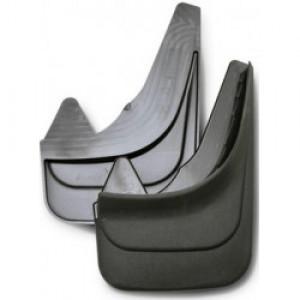 """Брызговики 3D """"Norplast"""" передняя пара для Opel Corsa D хэтчбек 2006-2014. Артикул 63-22F"""
