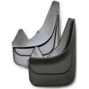 """Брызговики 3D """"Norplast"""" передняя пара для Mazda 3 II хетчбэк 2009-2013. Артикул 55-05F"""