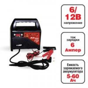 Зарядное устройство AVS Energy ВТ 1206 (6А)