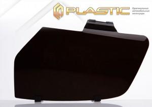 Защита фар Mitsubishi Pajero (Classic черный)