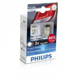 Philips X-tremeVision LED (P21W, 12898RX2)