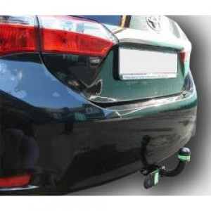 Фаркоп Лидер-Плюс для Toyota Corolla E150/E160 седан 2007-2013/2013-2018. Артикул Т117-A