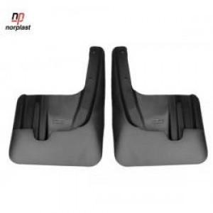 """Брызговики 3D """"Norplast"""" передняя пара для Peugeot 308 I 2010-2013. Артикул 64-30F"""