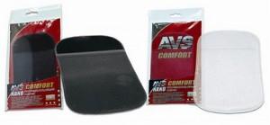Противоскользящий NANO коврик AVS NP-002 (15х9см) чёрный/прозрачный