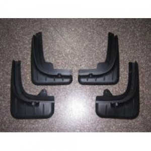 "Брызговики ""Oem-Tuning"" (комплект передние + задние) для Porsche Cayenne 2010-2018. Артикул CNT05-11KY-012"