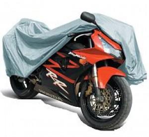 "Защитный чехол-тент на мотоцикл AVS МС-520 ""М"" 203х89х119см (водонепроницаемый)"